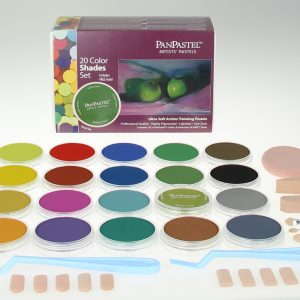 Panpastel 20 Pack Colours Shades Set 30206