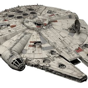 BANDAI STAR WARS KIT Perfect Grade MILLENNIUM FALCON 1-72 Scale BAN 216384