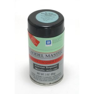 Model Master Spray Auto Lacquer Artesian Turquoise Metallic 28147