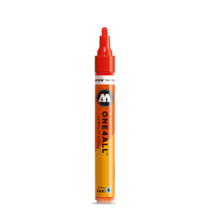 MOLOTOW 4mm Metallic Black Acrylic Paint Marker ONE4ALL 227HS 227301