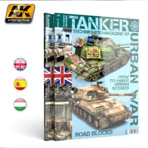 TANKER issue 07 URBAN COMBATS by AK Interactive AKI T7