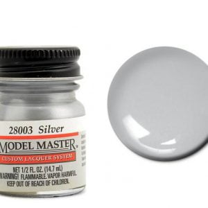 Model Master Auto Lacquer Paints Silver 28003