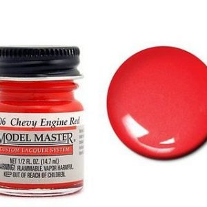 Model Master Auto Lacquer Paints Stop Light Red 28005