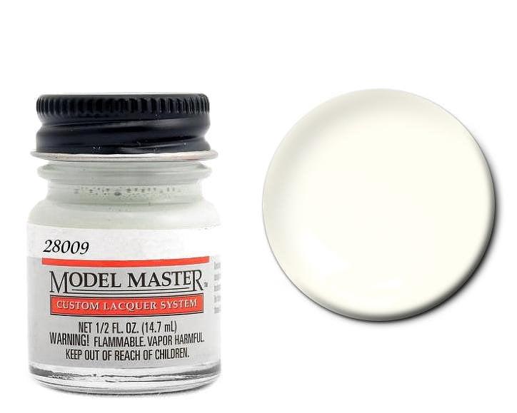 Model Master Auto Lacquer Header White 28009