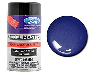 Model Master Spray Auto Lacquer Ultraviolet Pearl 28122