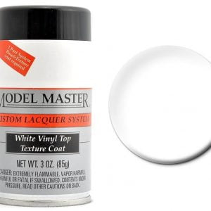 Model Master Spray Auto Lacquer White Vinyl Top Texture Coat 28155