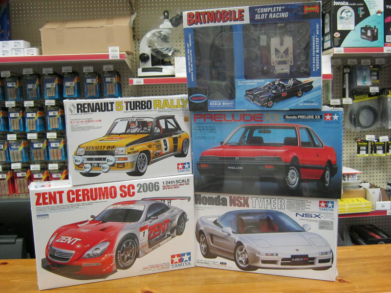 Special Purchase on Tamiya Cars and Batmobile Slot Car Kits