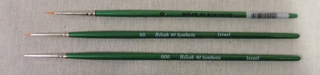 Rekab Brushes Gold Konex Series 40 Round