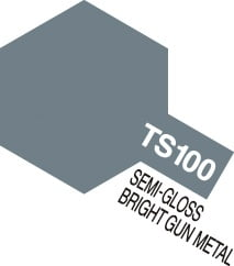 Tamiya Spray Paint TS100 Bright Gun Metal