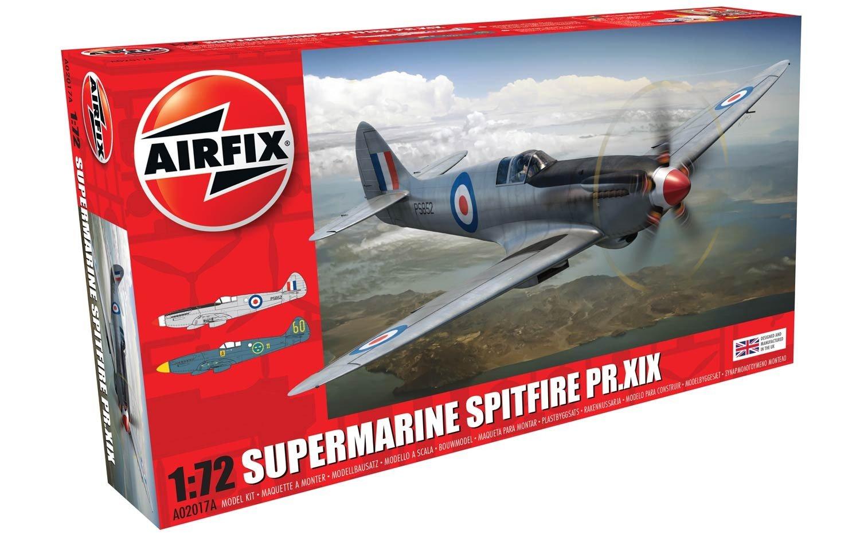 Airfix Supermarine Spitfire Pr Xix 1 72 A02017a Online