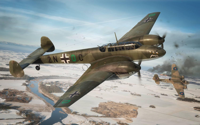 Airfix Messerschmitt Bf110c D 1 72 A03080a Online