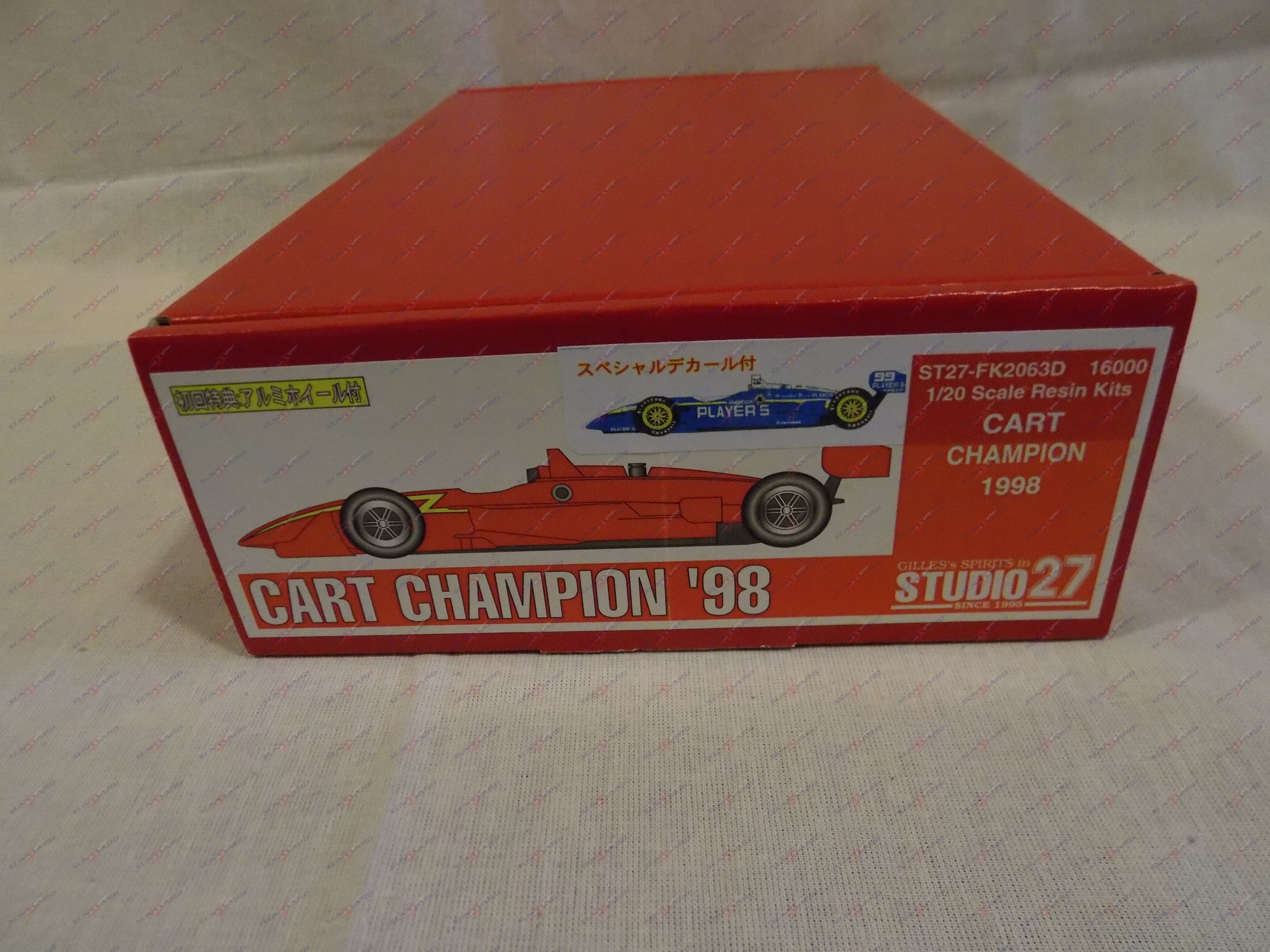 Studio27 Cart Champion '98 1:20 Scale Model Kit ST27-FK2063D