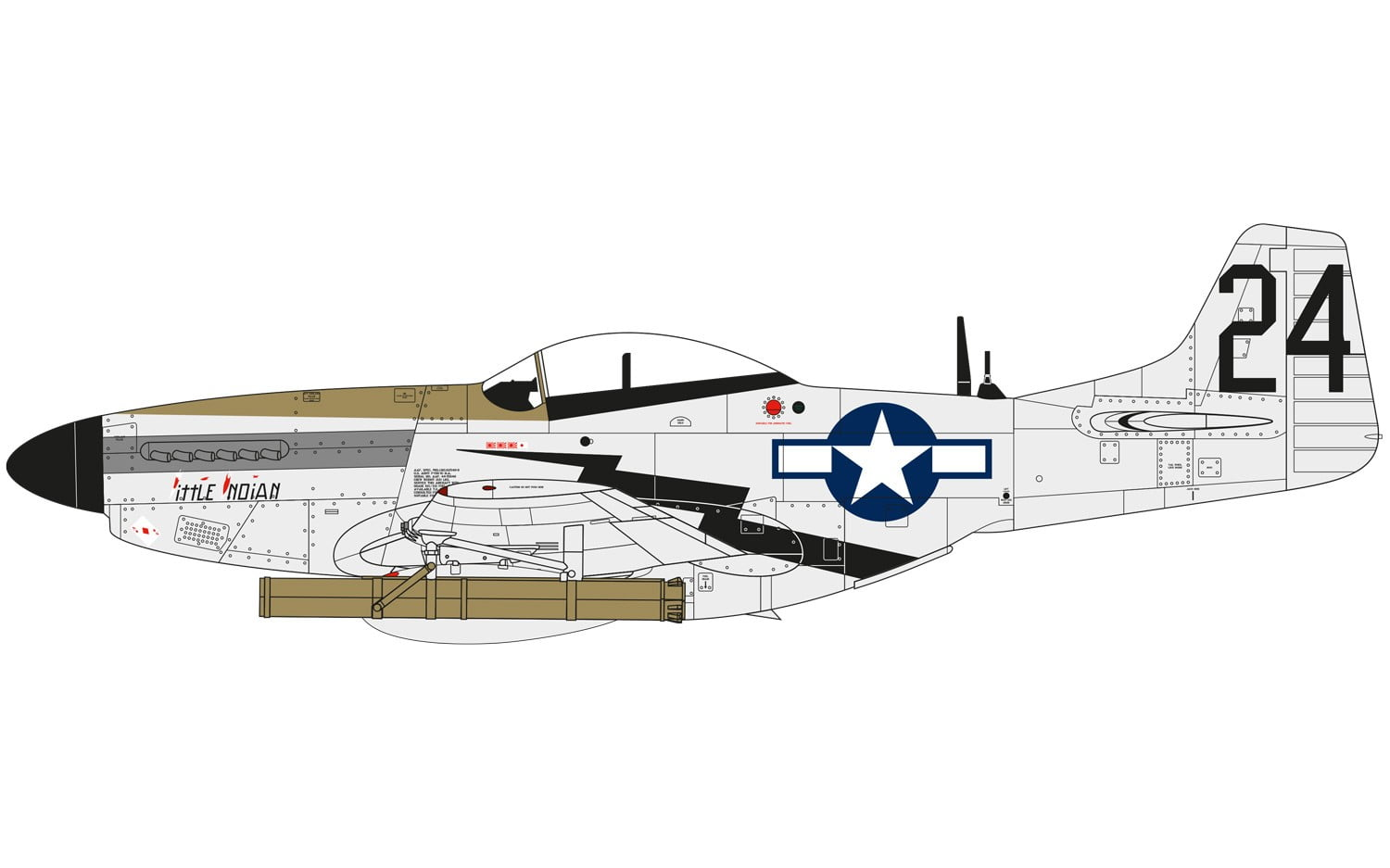 Airfix North American P51 D Mustang 1 48 A05131 Online