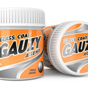 AK Interactive GAUZY AGENT GLASS COAT 100 ml AKI 893