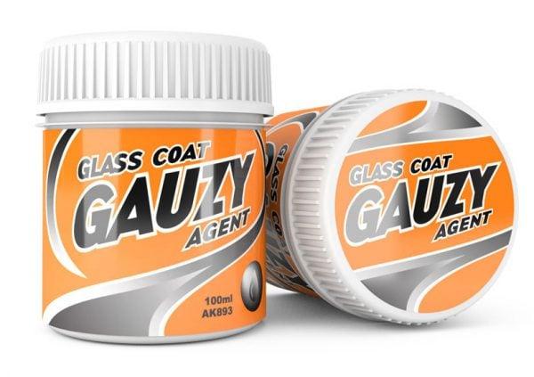 AK Interactive GAUZY AGENT GLASS COAT 100 ml AKI 893