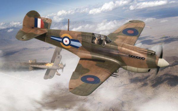 Airfix Curtiss Tomahawk Mk.IIB 1:72 A01003A