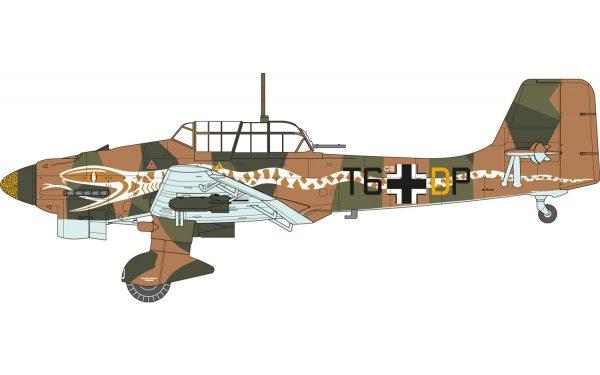 Junkers Ju87B-2/R-2 Stuka 1:72 A03089