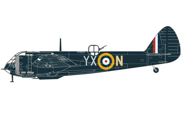 Airfix Bristol Blenheim Mk.If 1:72 A04059