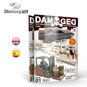 DAMAGED MAGAZINE ISSUE 01 Abteilung 502 ABT701
