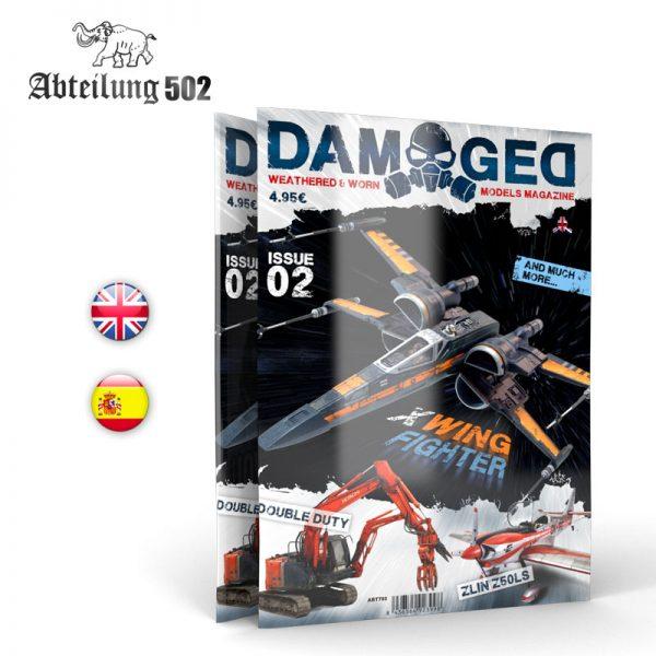 DAMAGED MAGAZINE ISSUE 02 Abteilung 502 ABT703
