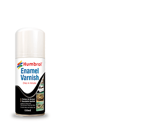Humbrol Enamel Varnish Gloss Spray 6997