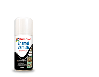 Humbrol Enamel Varnish Satin Spray 6999