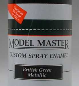 Model Master Car and Truck Spray Paint 2921 Classic Black