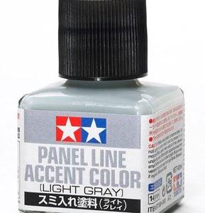 Light Gray Grey Tamiya Panel Line Accent Color 87189