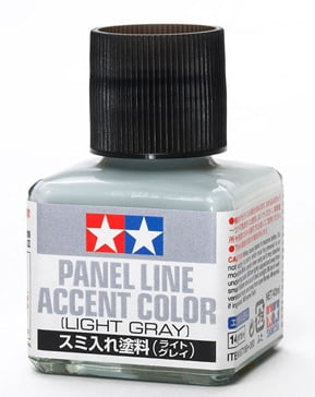 Light Gray Grey Tamiya Panel Line Accent Color 87189