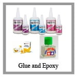 glue and epoxy from Sunward Hobbies