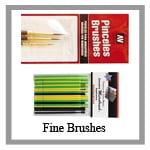 hobby brushes