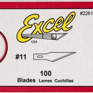 #11 Blades Bulk 100 Pack Excel 22611