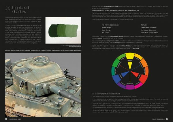 MASTERING OILS 1 OIL PAINTING TECHNIQUES ON AFVS Abteilung 502 ABT602