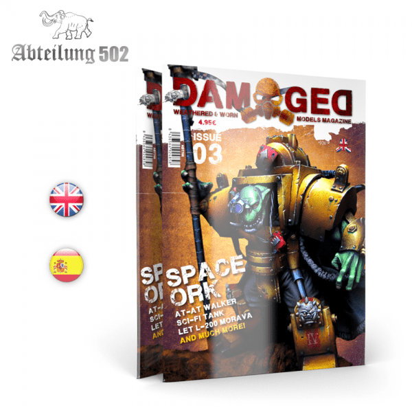 DAMAGED MAGAZINE ISSUE 03 Abteilung 502 ABT705