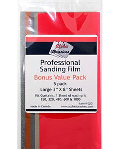 Alpha Abrasives Professional Sanding Film 201