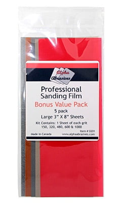 Alpha Abrasives Professional Sanding Film 201
