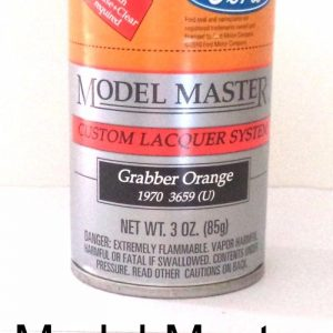 Model Master Spray Auto Lacquer Grabber Orange 28105