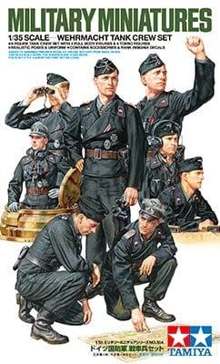 Tamiya Wehrmacht Tank Crew Set 35354