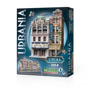 Urbania Cinema 3D Jigsaw Puzzle Made by Wrebbit Puzzles 300 Pieces