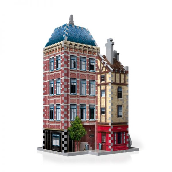 Urbania Hotel 3D Jigsaw Puzzle Made by Wrebbit Puzzles 295 Pieces