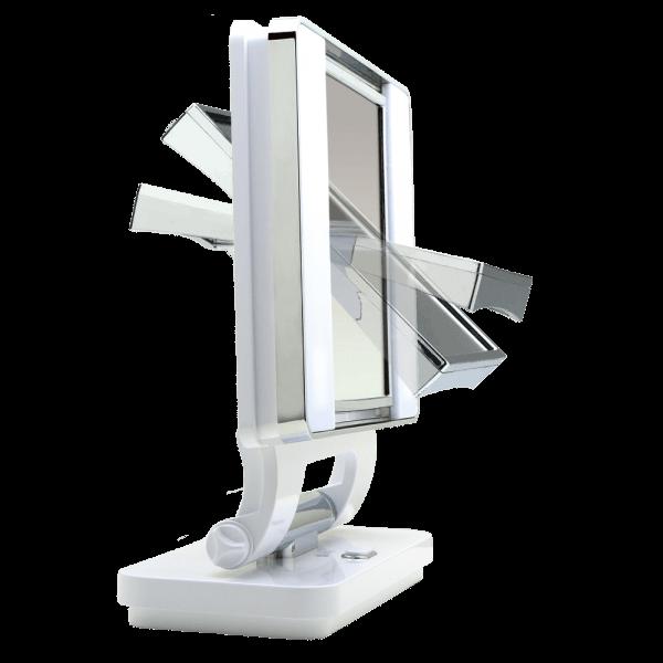 OttLite Natural Makeup Mirror White magnification