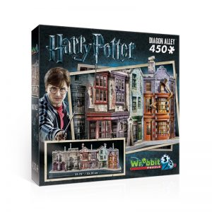 Diagon Alley Harry Potter 3D Jigsaw Puzzle Made by Wrebbit Puzzles 450 Pieces