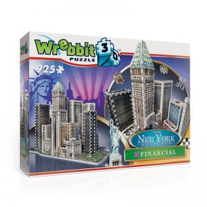 Financial 3D Jigsaw Puzzle Made by Wrebbit Puzzles 925 Pieces