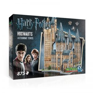 Hogwarts Astronomy Tower 3D Jigsaw Puzzle Made by Wrebbit Puzzles 875 Pieces