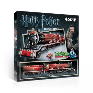 Hogwarts Express 3D Jigsaw Puzzle Made by Wrebbit Puzzles 460 Pieces