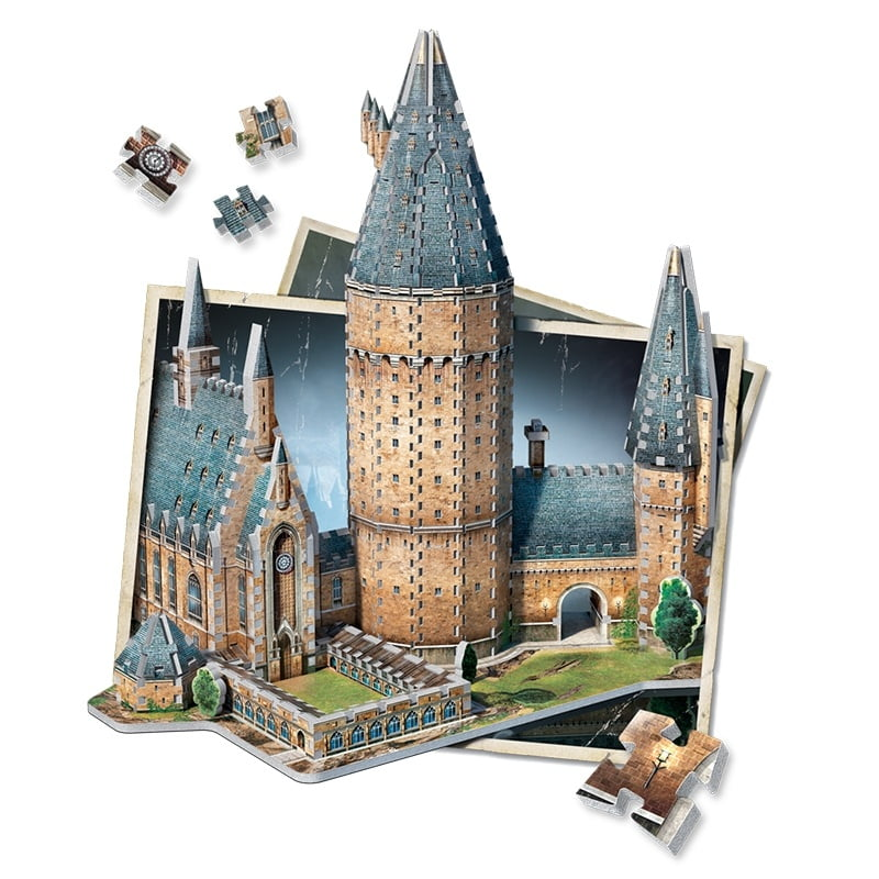 Hogwarts Great Hall 3d Jigsaw Puzzle Made By Wrebbit