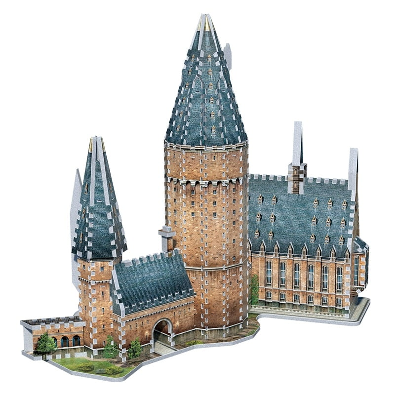 Hogwarts Great Hall 3D Jigsaw Puzzle Made By Wrebbit Puzzles 850 Pieces
