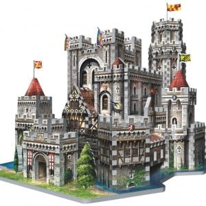 King Arthur's Camelot 3D Jigsaw Puzzle Made by Wrebbit Puzzles 865 Pieces