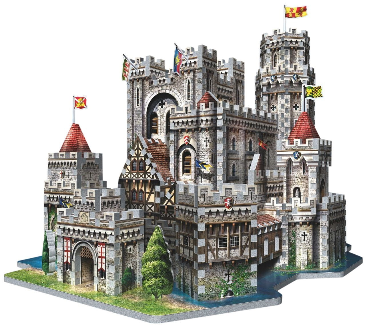 King Arthur S Camelot 3d Jigsaw Puzzle Made By Wrebbit