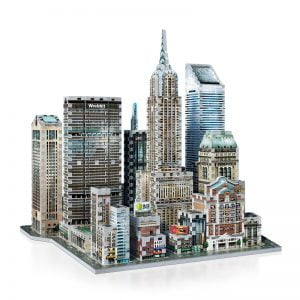 Midtown East 3D Jigsaw Puzzle Made by Wrebbit Puzzles 875 Pieces